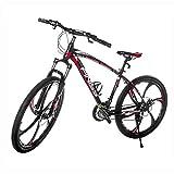 SHINE WOOD (シャインウッド) 自転車 マグネシウムスポーク マウンテンバイク クロスバイク 21段シマノ変速機 アルミフレーム サスペンションロックつき ランキングお取り寄せ