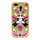 SKINNYDIP ( スキニーディップ ) iPhone 5 5S ケース Triton Case  iphoneケース グリッター プラスチック ケース ディアマンテストーン カバー  保護フィルム セット ( iphone5s iphone5 対応 ) 海外 ブランド