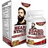 Beard & Stache Hair-Growth Supplement for Men