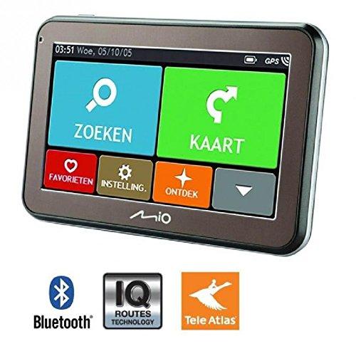 """MIO SPIRIT 5670 LM GPS 4,3"""" - 23 pays, Cartes a vie - Bluetooth"""