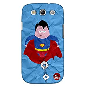 Designer Samsung Galaxy S3 Case Cover Nutcase-SupermanFunny Cartoon