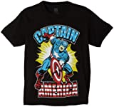 Captain America Boys 8-20 Marvel T-Shirt