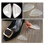 SODIAL(TM) Silicone Gel Arch Support Shoe Insert Foot Insole Wedge Cushion Insoles Unisex