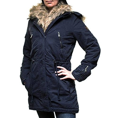 Anonymous & Famous Damen Winter Parkajacke Winterjacke AF-635-1 günstig