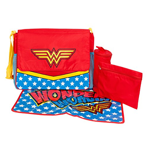 Wonder Woman Messenger Bag Diaper Tote - 1