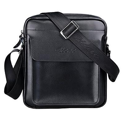 Zicac Mens Leather Shoulder Bag Handbags Briefcase For The Office Messenger Bag 3