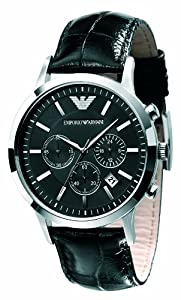 armani chronograph watch instructions