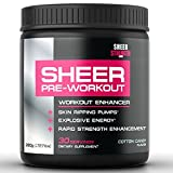 SHEER STRENGTH PRE WORKOUT - #1 Best Preworkout Supplement Powder On Amazon - Cotton Candy - No Jitters/Crash - Science-Backed Formula For The Best, Most Satisfying Workouts Of Your Life!