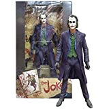 NECA, DC Comics, The Dark Knight Movie Heath Ledger The Joker Action Figure, 7 Inches
