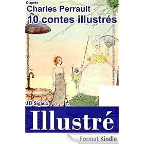 10 contes de Perrault illustr�s [version illustr�e]