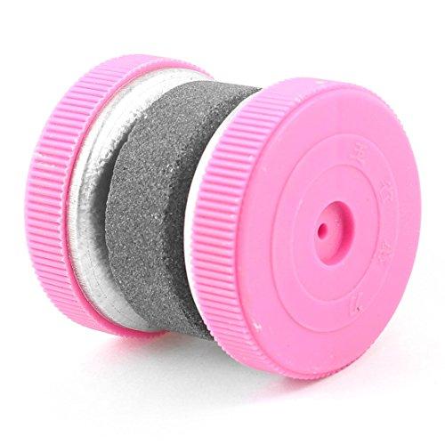 Scissors Sharpen Whetstone Sharpening Stone Hone Pink Gray