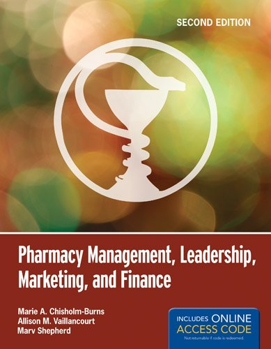 Pharmacy Management, Leadership, Marketing, And Finance 1449660282