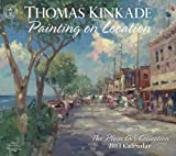 Thomas Kinkade Painting on Location 2013 Deluxe Wall Calendar: The Plein Air Collection
