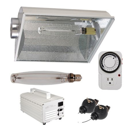Top Quality 1000 Watt Hps Plant Grass Herb Flower Growing Grow Light Lamp Air Cooled Reflector Switchable Ballast