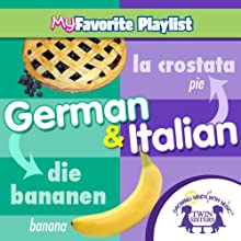 German and Italian  by Twin Sisters Narrated by Twin Sisters