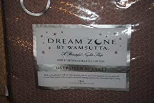 Wamsutta Dream Zone Oversized Blanket Dusk