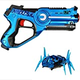 Legacy Toys Laser Tag Blaster and NANO BUG TARGET Set - Includes (1) Lazer Tag Blaster and (1) Target Robot Spider - Perfect Toys for Boys