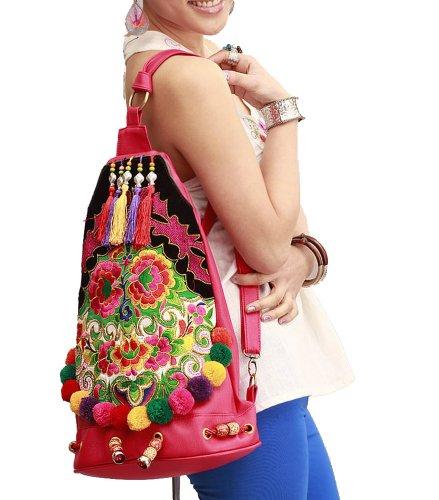 Interact China Exquisite Handbag Purse Shoulder Cross Body Vintage Bag 100% Handmade Artwork #132