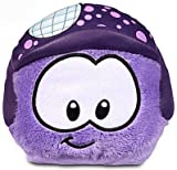 Disney Club Penguin 4 Inch Series 11 Plush Puffle Purple with Disco Ball Helmet Includes Coin with Code!