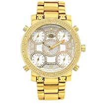 Mens Grand Master Five Time Zone Jet Bling Jacob Co Diamond Watch GM5-5Y