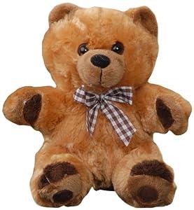 Play n Pets PNP-767B Bear 23cm (Medium), Brown