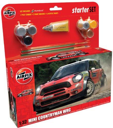 Airfix - AI55304 - Maquette - Mini Countryman WRC - Nouveau Moule