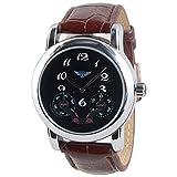 Xcel Chronograph Black Dial Men's Watch - THD5751
