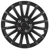 Unitec 75176 Premium- Radzierblenden 4er- Satz Suzuka, schwarz 40,6 cm (16 Zoll)