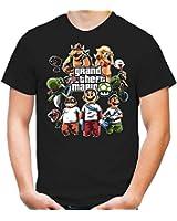 Mario's Gang T-Shirt | Super Nintendo | Gamer | Mario | Funshirt