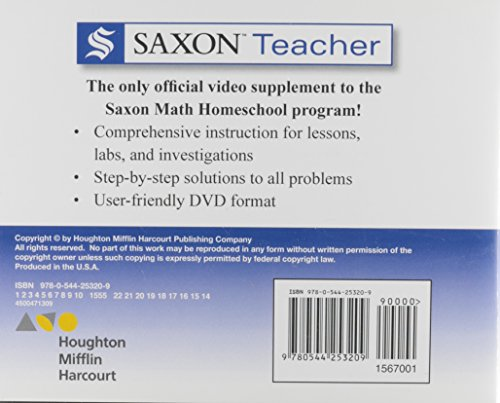 Saxon Teacher Algebra 2: Lesson and Test (Saxon Homeschool)