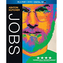 Jobs (Blu-ray + DVD + Digital HD with UltraViolet)