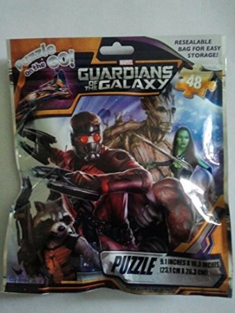 Guardians of the Galaxy Puzzle on the Go Resealable Bag for Easy Storge - 1