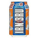 Barr Irn-Bru 330ml (Pack of 24 x 330ml)