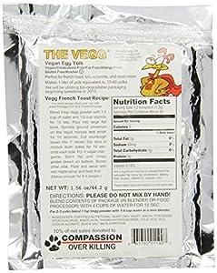 The Vegg - Vegan Egg Yolk Mix - 1.56 oz Bag