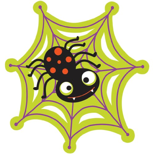 "8"" Halloween Spider Cutout"
