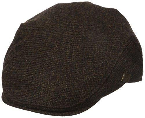 san-diego-hat-co-mens-herringbone-driver-brown-one-size