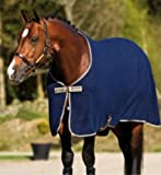 Amigo Stable Sheet New Design 2013 Advanced Moisture Management[7'0'',Fig/Navy/Lilac]