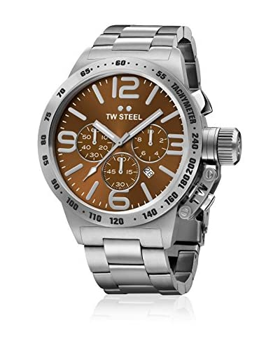 TW Steel Orologio al Quarzo Unisex CB23 Canteen Collection 45 mm
