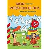 Rucksackblock Vorschule / Mein liebster Vorschulblock; Zahlen und Buschstaben: Wigwam