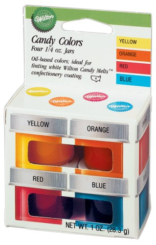 Review Of Wilton Primary Candy Color Set