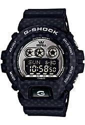 Casio G-shock Supra Collaboration Watch Gd-x6900sp-1dr Black Limited Edition
