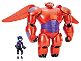 Big Hero 6 11 Deluxe Flying Baymax with 4.5 Hiro Action Figures
