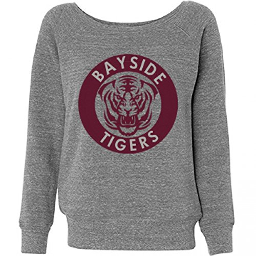 Bayside Tigers, Off The Shoulder Sweatshirt for Women - S to XXL