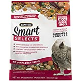 ZuPreem Smart Selects Parrot and Conure Bird Food 4 lb