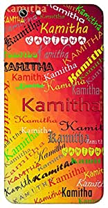 Kamitha (Popular Girl Name) Name & Sign Printed All over customize & Personalized!! Protective back cover for your Smart Phone : Samsung Galaxy A-5