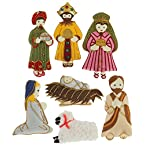 Nativity Set of Seven Decorations