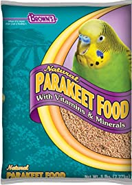 F.M. Brown's Natural Parakeet Food, 5-Pound
