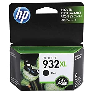 Hewlett-Packard - HP 932XL Ink Cartridge, 1000 Pages Yield-Black