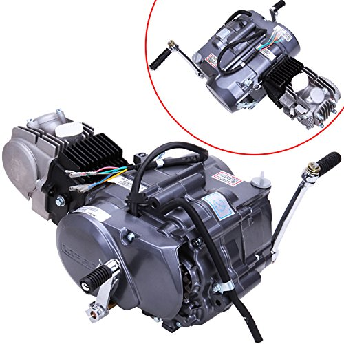 Iglobalbuy 125cc 4 Stroke 1P52FMI-K (124cm3) Dirt Bike Engine Motor Carb Complete Kit For Honda XR50 CRF50 XR CRF 50 70 (4 Stroke Motor Bike Kit compare prices)