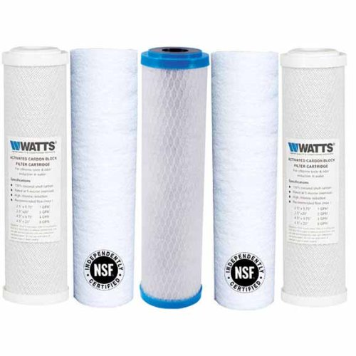 83dd10464ecd Watts Premier Wp4V Replacement Filter Pack for Reverse Osmosis System